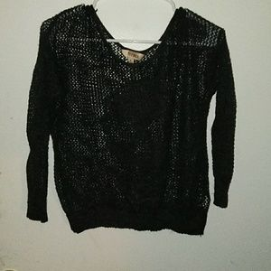 Half Sleeve Loose Knitted Top